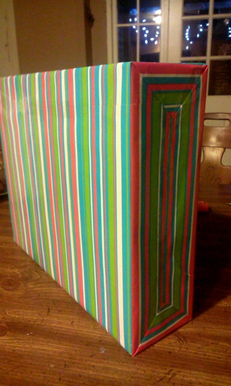 perfectly wrapped present