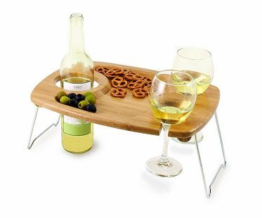 picnic wine and snack table legs