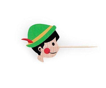 pinocchio party picks sticks