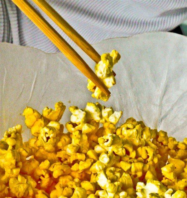 popcorn chopsticks