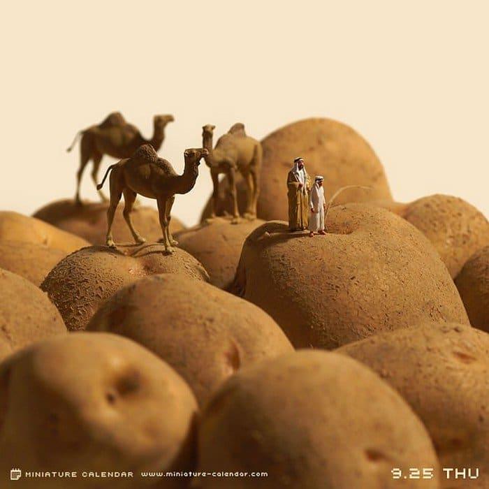 potatoes mini desert