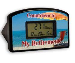 retirement countdown clock