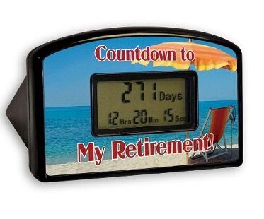 retirement countdown clock