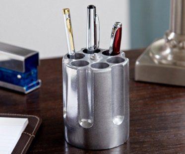 revolver chamber pen holder