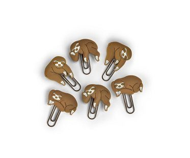 sloth clip picture hangers board