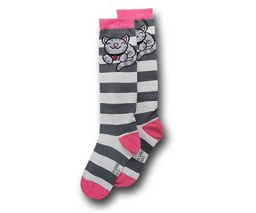 soft kitty socks stripey