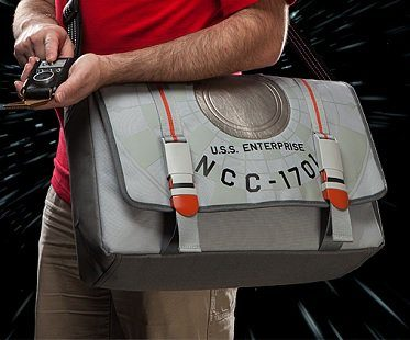 star trek enterprise bag