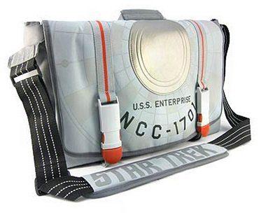 star trek enterprise bag front