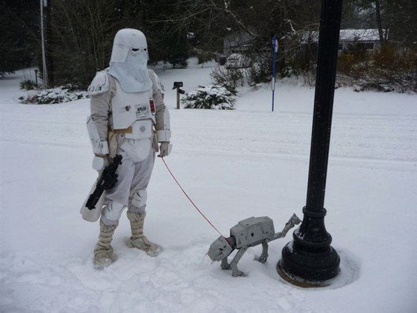 star wars snow
