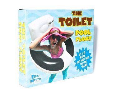 toilet seat pool float box