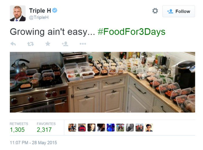 triple h diet