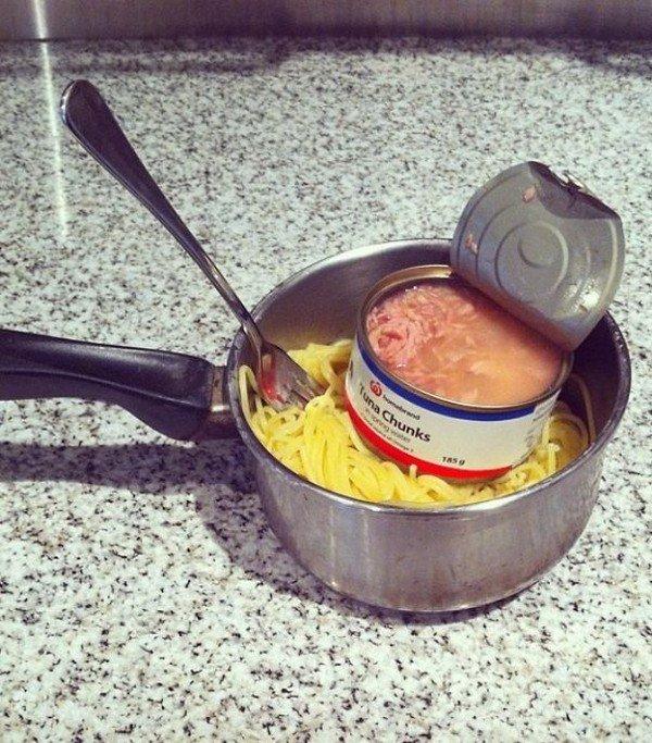 tuna pasta pot