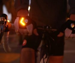 turn signal bike gloves