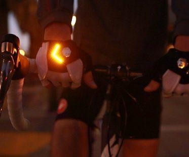 turn signal bike gloves