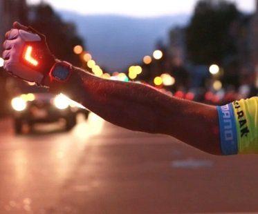 turn signal bike gloves cycling