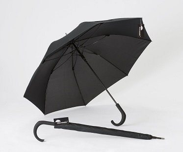 unbreakable umbrella black