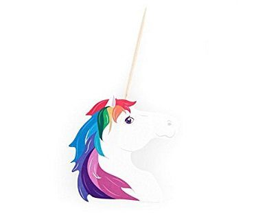 unicorn party picks sticks