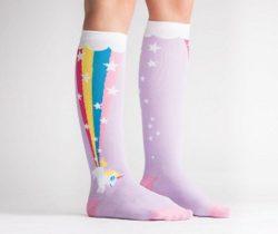 unicorn rainbow socks