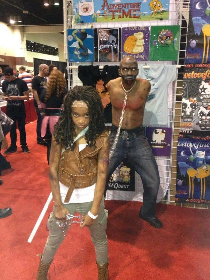 walking dead cosplay