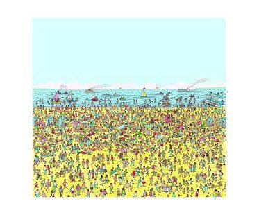 where's waldo mural beach