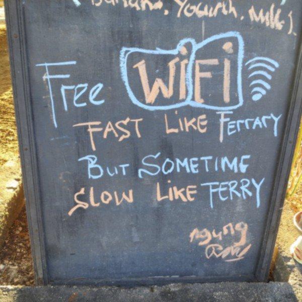 wifi fast like ferrary