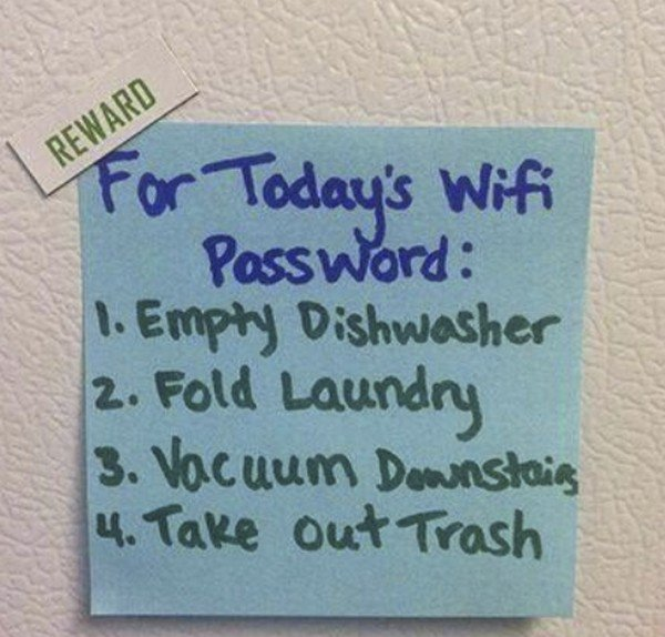 wifi reward