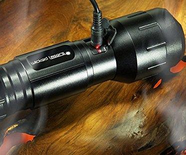 world's brightest flashlight charging