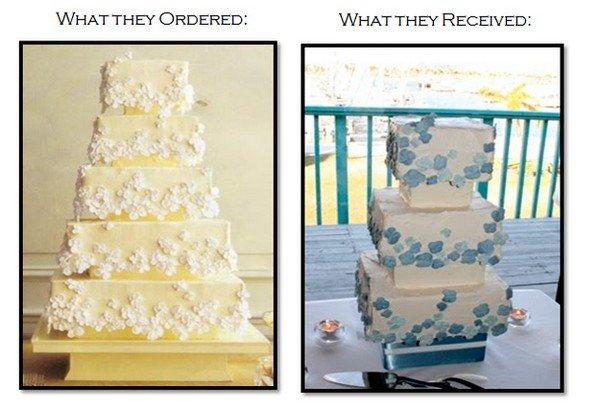 yellow blue cakes