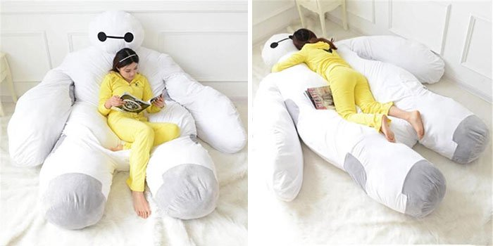 yellow onesie girl baymax
