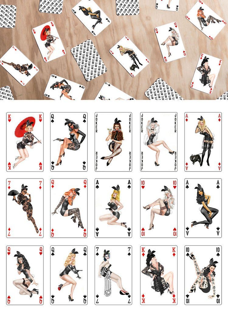 50s playing cards