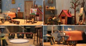 Ali Alamedy Builds Dream Room Miniature Size