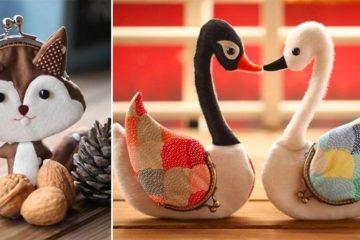 Animal-Shaped Handmade Purses And Wallets