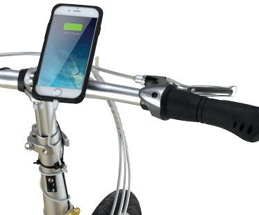 Bicycle Powered USB Charger phone