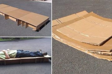 Community Activist Designs Bed For Homeless People