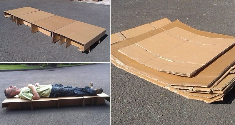 Community Activist Designs Bed For Homeless People To Get
