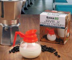 Diner Coffee Creamer Pot