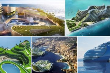 Eco-Friendly Floating Cities