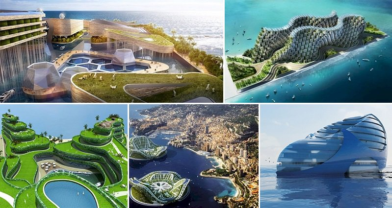 12 Floating Eco Friendly Cities That Will Blow You Away