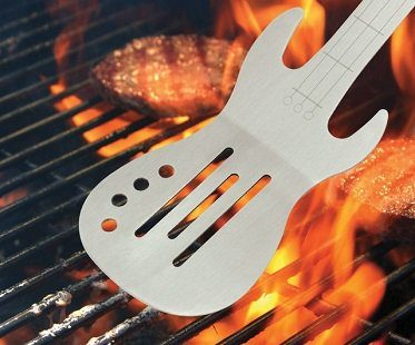 Guitar BBQ Spatula cooking