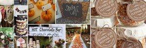 Ideas For Fall Weddings