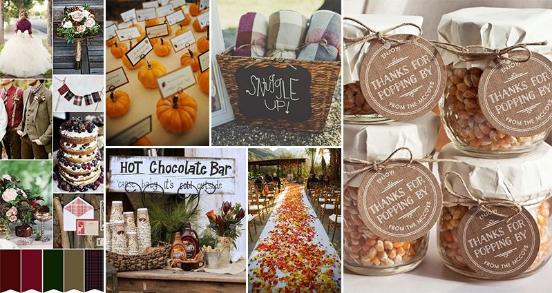 15 seasonal ideas for beautiful fall weddings junglespirit Choice Image