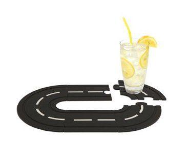Interlocking Race Track Coasters