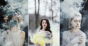 Jovana Rikalo Smoke Bomb Photographs