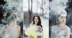 Jovana Rikalo Smoke Bomb Photographs