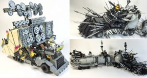 LEGO Versions Of Vehicles From Mad Max