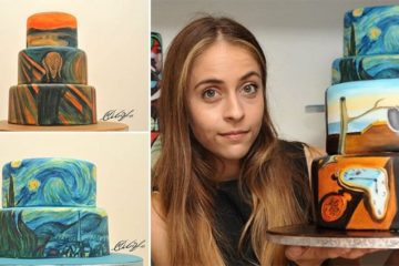 Maria A. Aristidou Famous Paintings On Cakes
