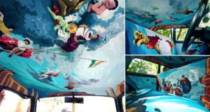 Mumbai Taxi Turned Into Art Work
