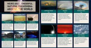 Natural Phenomena Around The World
