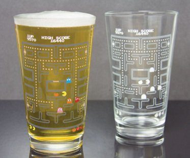 Pac-Man Cold Changing Glass