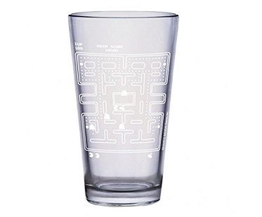 Pac-Man Cold Changing Glass pint